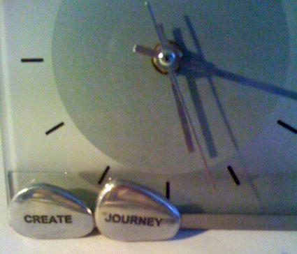 Createjourneyclock