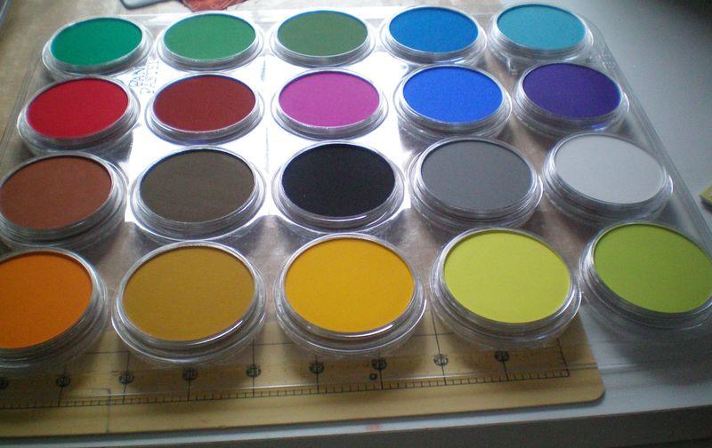 Pan pastels