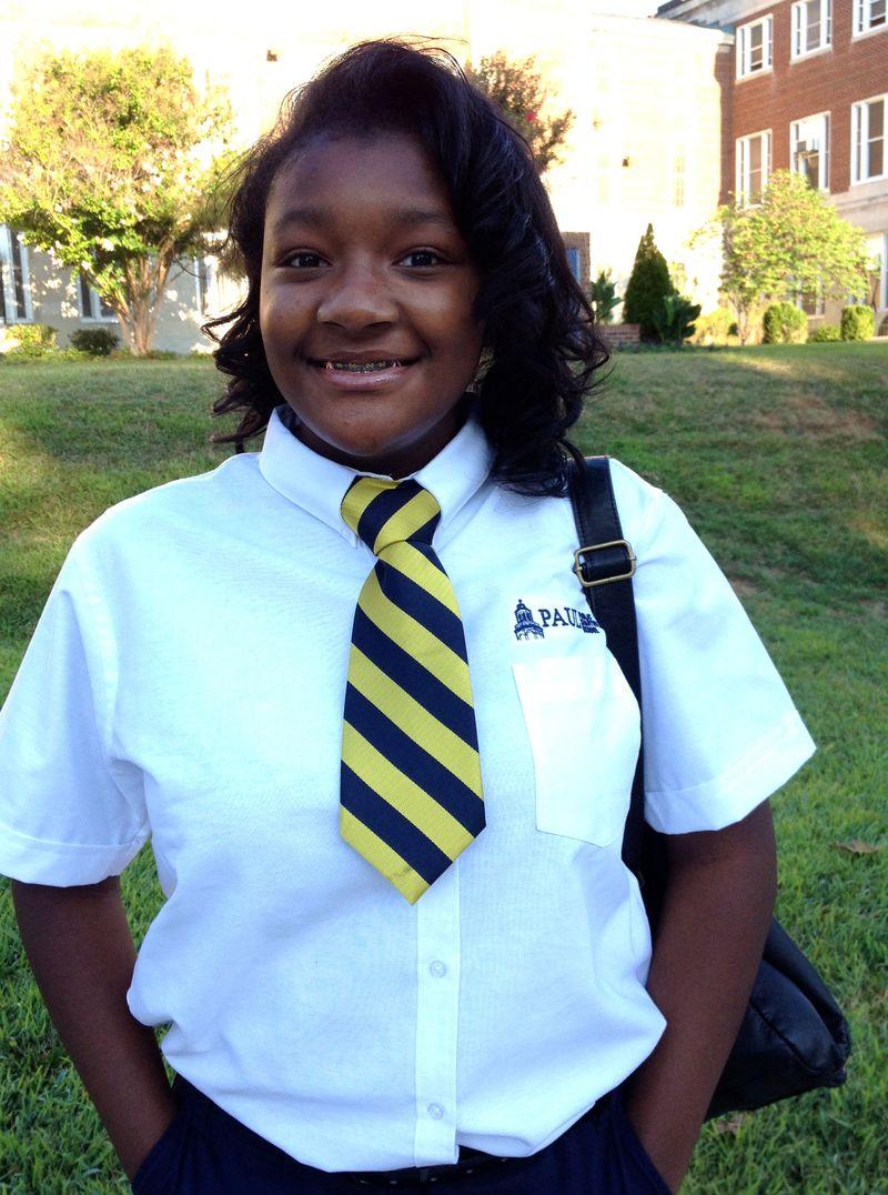 Kayla back to school 8th grade