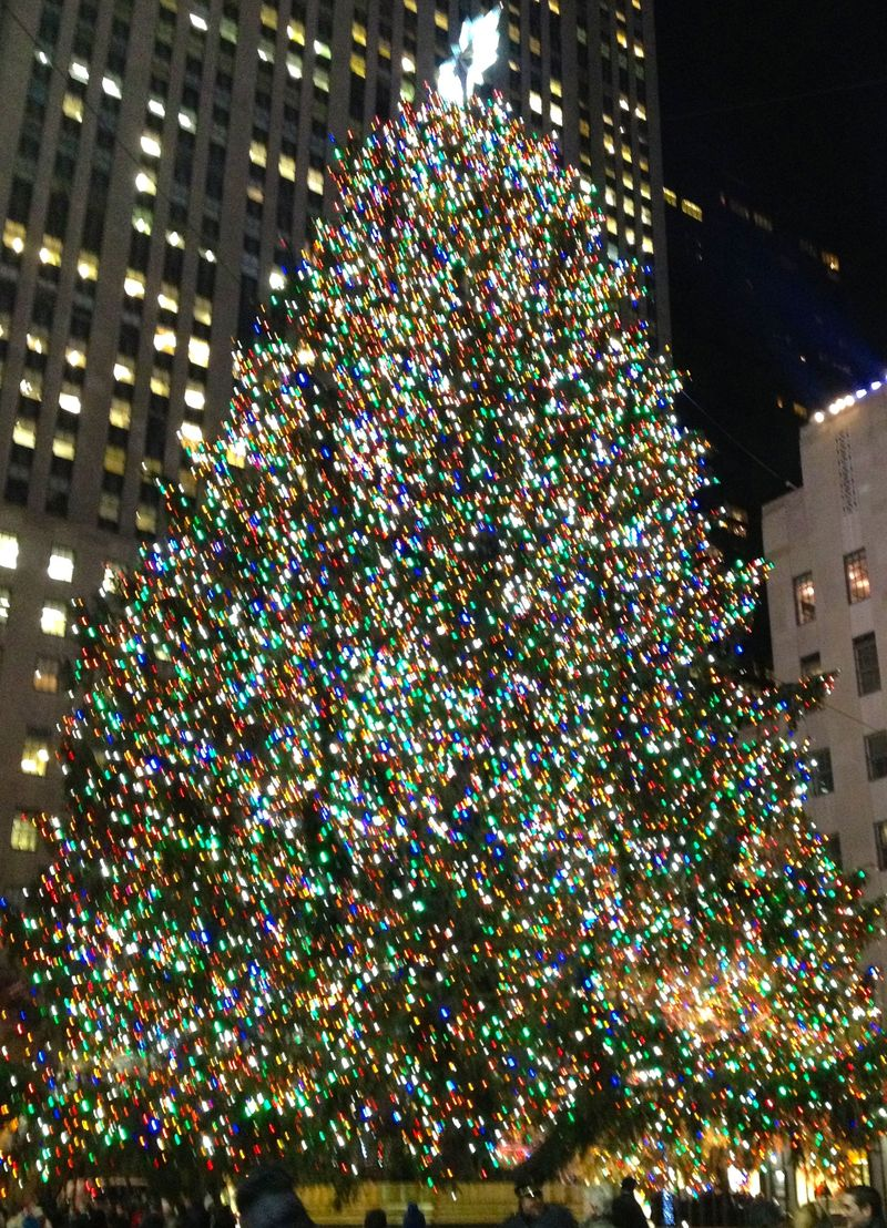 Rockefeller Plaza - Dec 2013