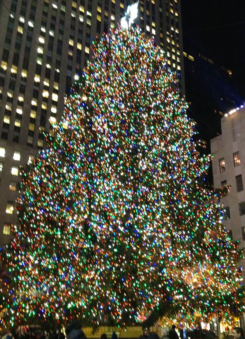 Rockefeller Plaza - Dec 2013
