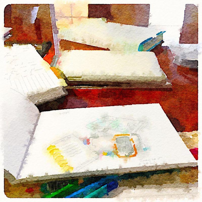 Painted in Waterlogue-Sketch
