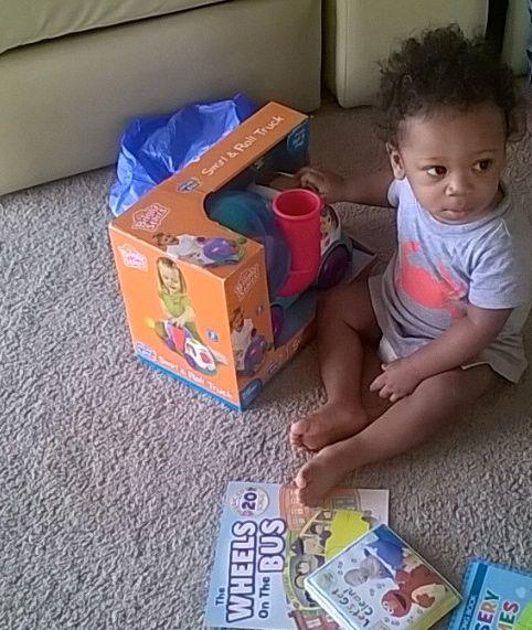 Bebe on first birthday