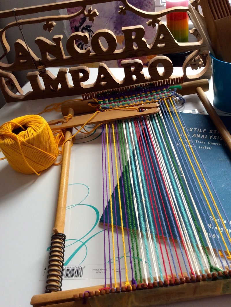 Mama's weaving