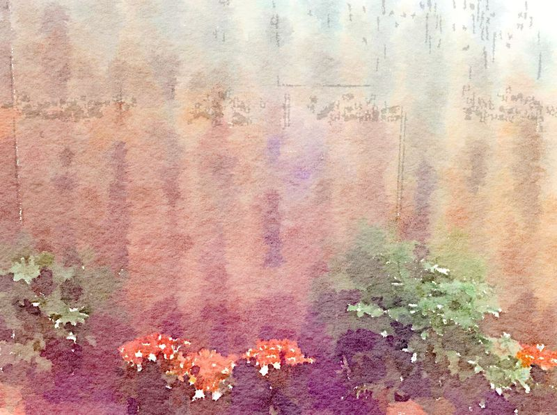Painted in Waterlogue-Cascade