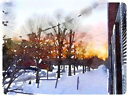 Painted in Waterlogue-blizzard2016